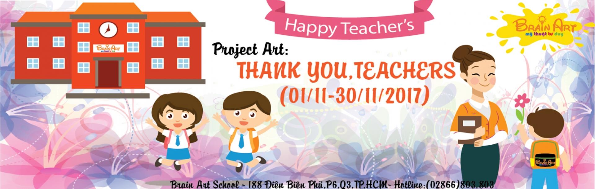 Project Art - Thank you, teachers
